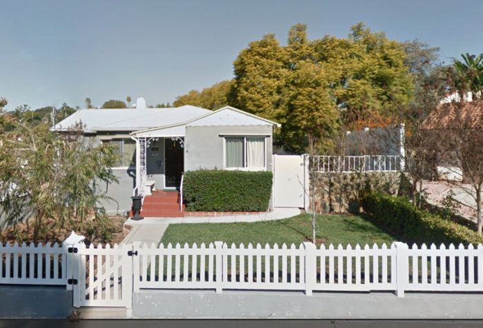 The owners of this cottage home in Southern California want their renovation to include a new front porch and updated curb appeal. (Source: Google Street View)